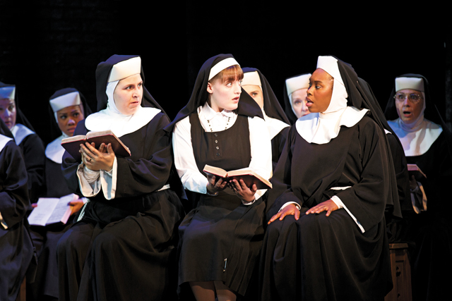 Sister Act. Photo by Joan Marcus