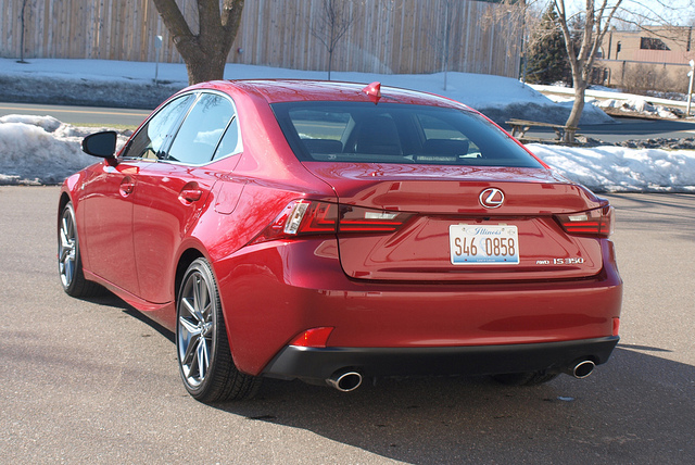 Lexus IS 350 F Sport 5