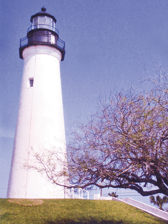 Lighthouse in use from 1852-1905 with a 16-mile view. Photo by Carla Waldemar
