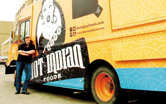 Janene Holig of Hot Indian Foods. Photo by Katrina Ecklund