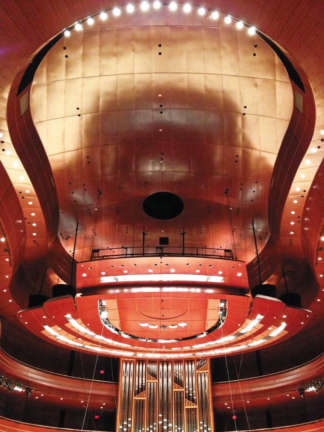 Instrumental design at the Kimmel Center. Photo by Andy Lien
