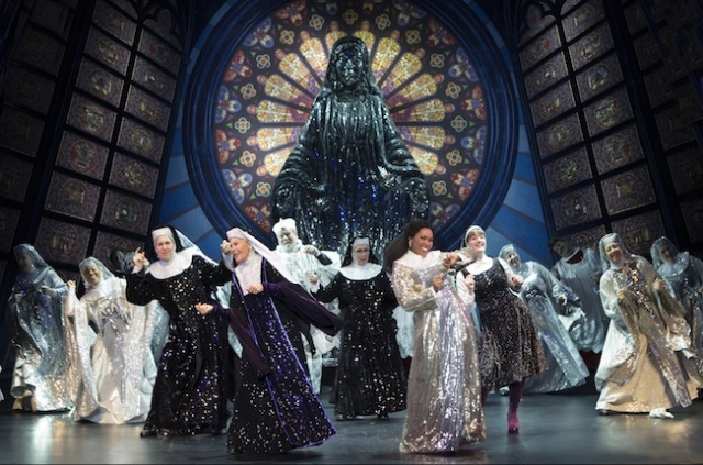 The cast of Sister Act Photo by Joan Marcus