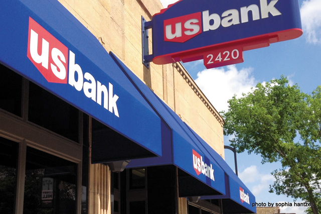 U.S. Bank. Photo by Sophia Hantzes