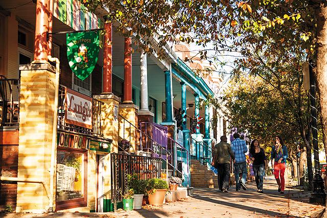 Baltimore Hampden. Photo courtesy of Visit Baltimore