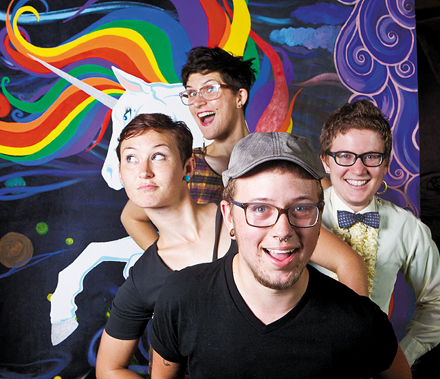 2013 Queer Prom. Photo by Rebecca Jean Lawrence Photography