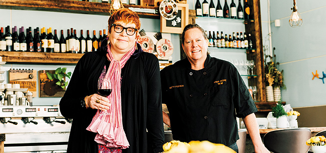 The Women of Wise Acre Eatery