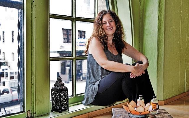 Jennifer Gray, creator of Big A#%!™ Yoga. Photo by Mike Hnida