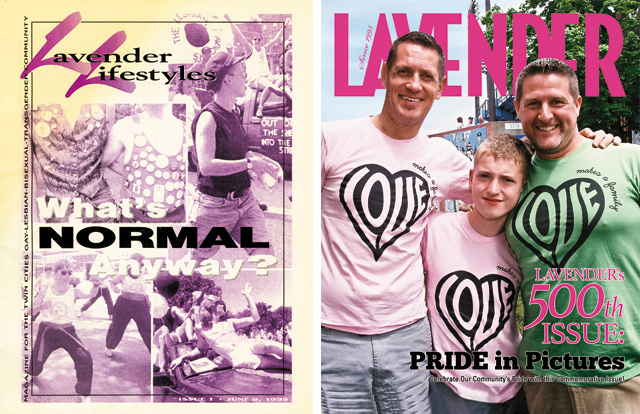 Lavender Magazine Issue 1 & 500