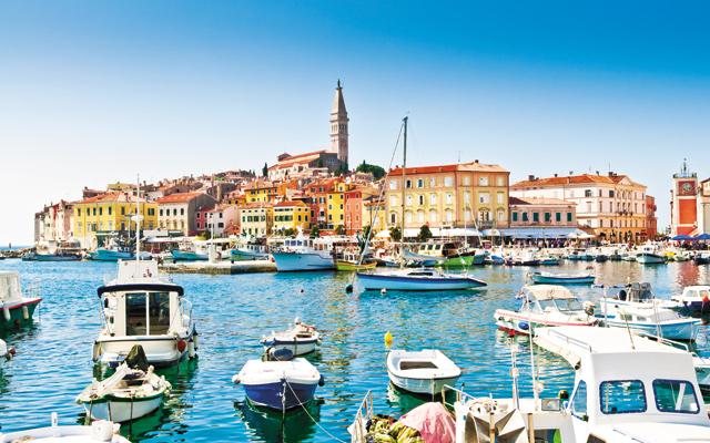 Old town, Rovinj Harbor, Croatia. Photo courtesy of iStock