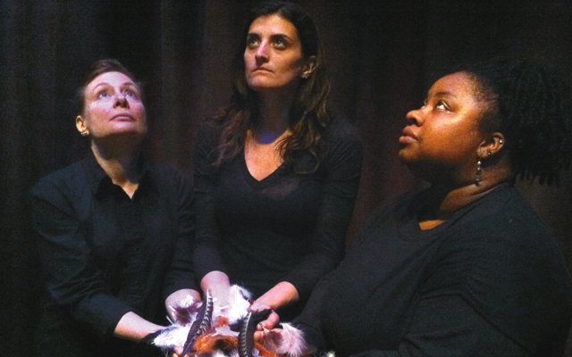 If We Were Birds. Photo courtesy of 20% Theatre Company Twin Cities