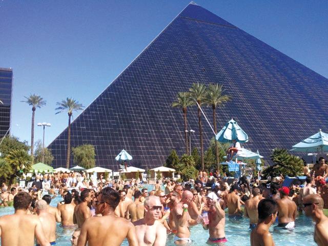 Temptation Sundays at the Luxor Hotel & Casino. Photo courtesy of MGM Resorts International