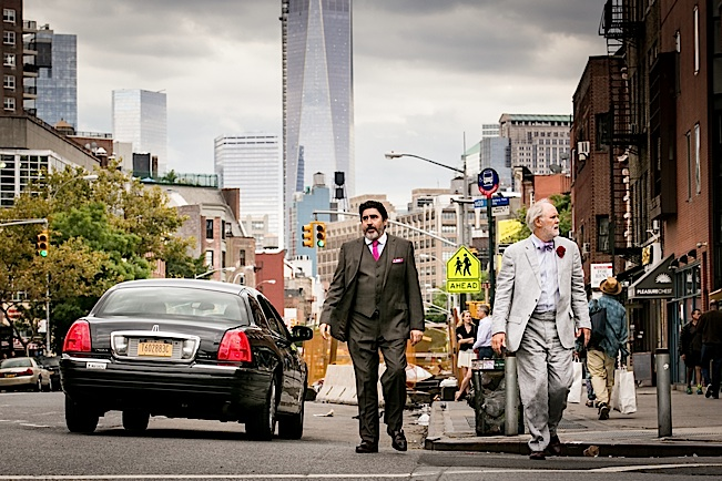 Alfred Molina as George and John Lithgow as Ben. Photo by Jeong Park, Courtesy of Sony Pictures Classics.