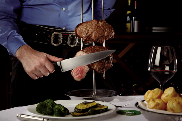 Fogo de Chao. Photo courtesy of Fogo de Chao