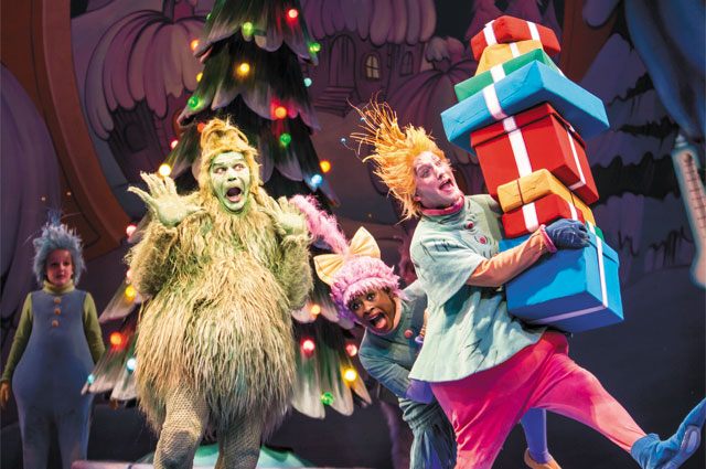 Dr. Seuss' How The Grinch Stole Christmas. Photo by Dan Norman