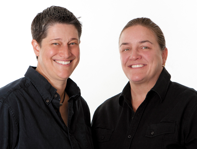 Amy Ruzick & Kay Johnson. Photo by Mike Hnida