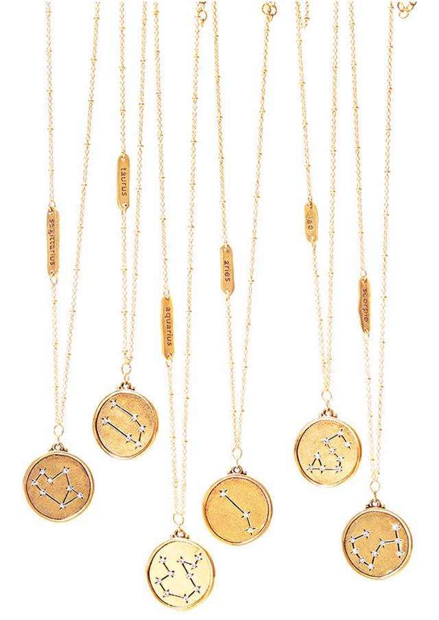 Shane Gift Guide Astrological Necklace Screenshot