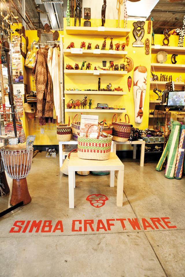 Simba Craftware. Photo by Hubert Bonnet