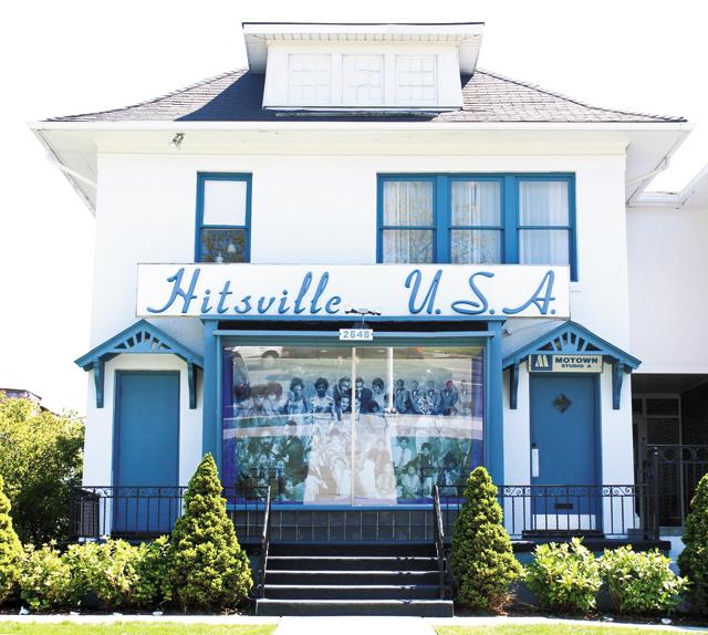 Detroit Motown Museum. Photo courtesy of Visit Detroit