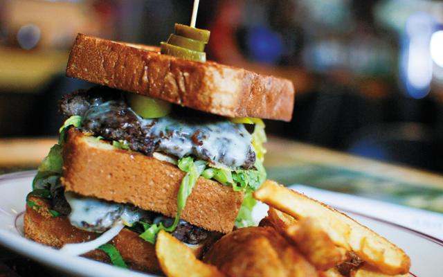 Paddy Shack, Shack Burger. Photo by Joy Summers
