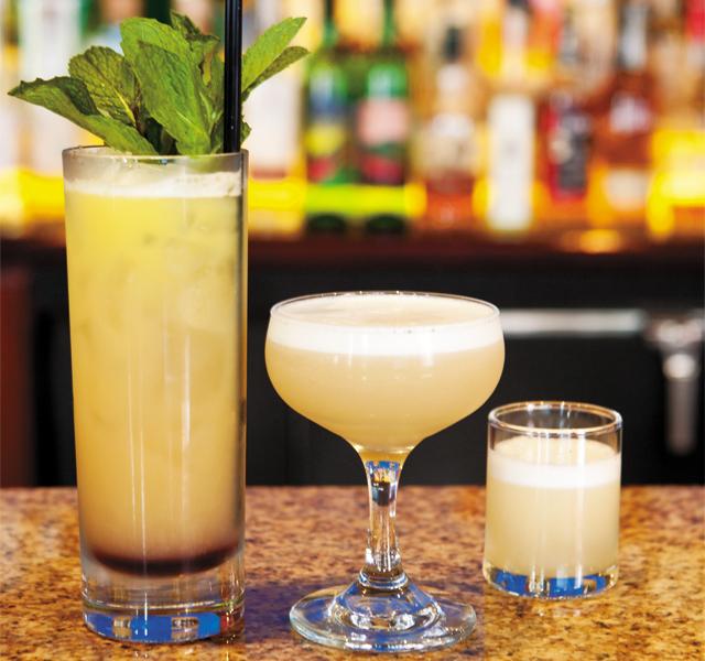 Saffron's cocktails. Photo by Hubert Bonnet