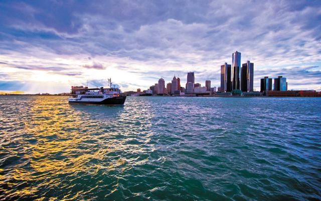 Detroit skyline. Photo by Vito Palmisano