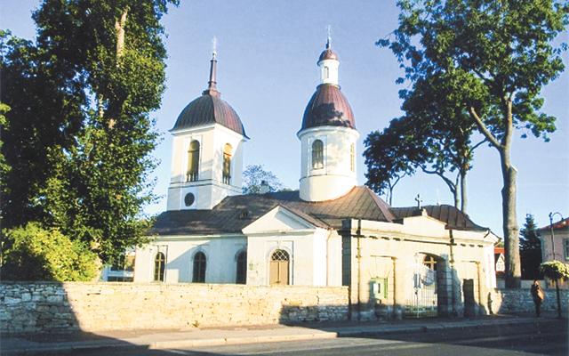 Russian Orthodox church, Estonia. Photo by Carla Waldemar