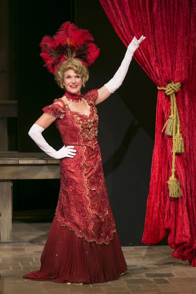 Michelle Barber as Dolly Levi. Photo by Heidi Bohnenkamp