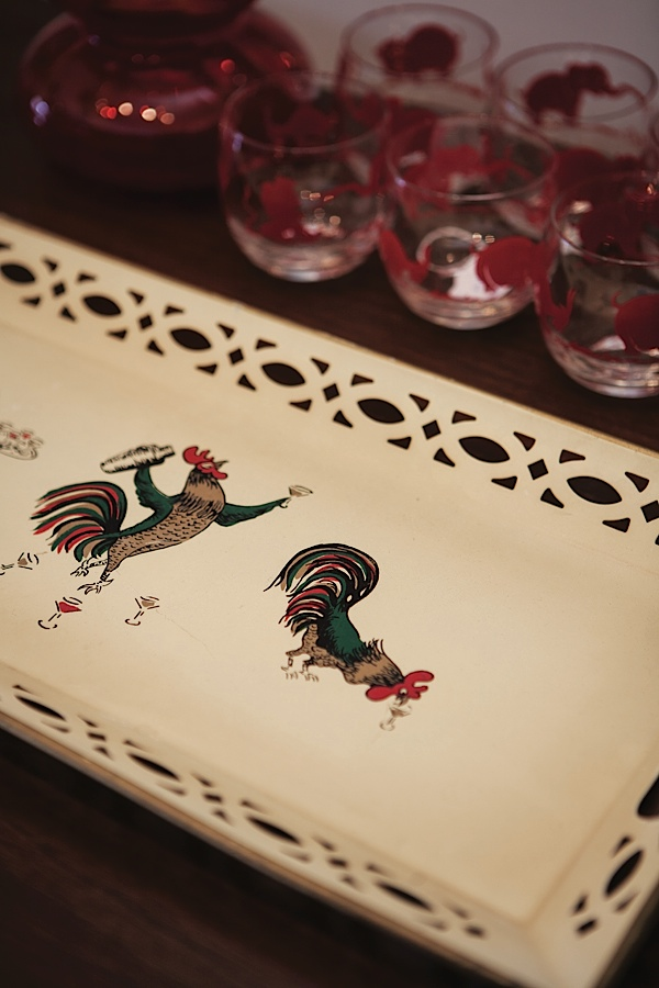 Collections of vintage and modern barware and more. Photo by Hubert Bonnet