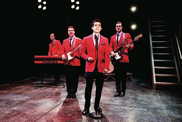 Jersey Boys. Photo by Jeremy Daniel
