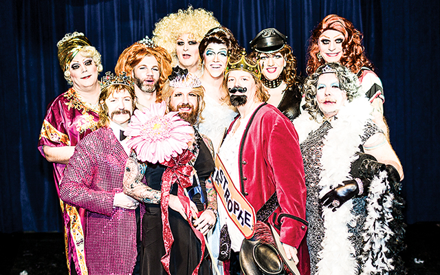 Mr & Miss Catastrophe contestants and judges. Photo by Everett Allen Photography