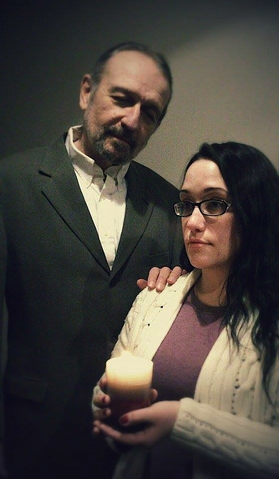Charles Numrich and Rebecca Gebhart. Photo by Ariel Leaf.