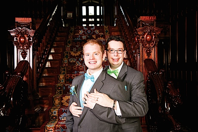Kevin & Justin Jagoe. Photo by Rebecca Jean Lawrence Photography