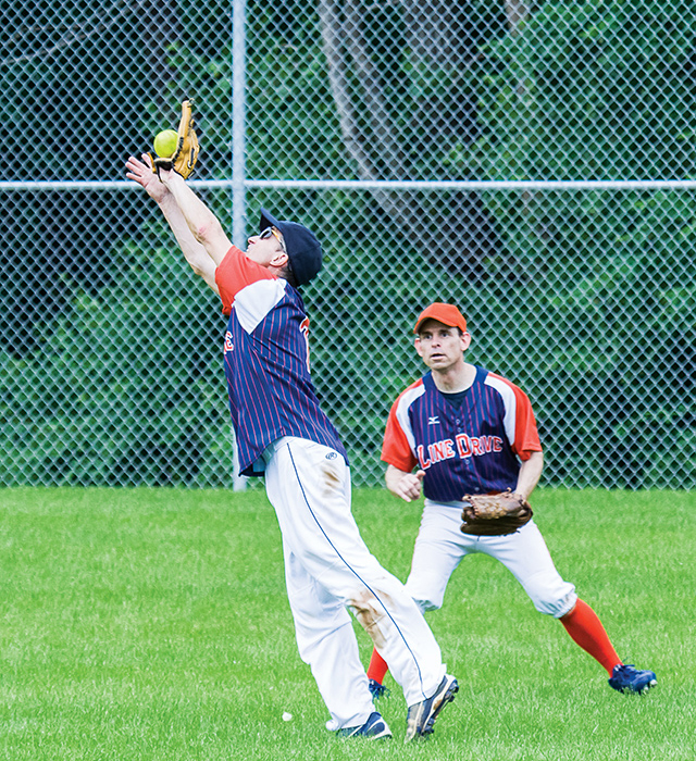 Twin Cities Goodtime Softball League. Photo by Larry Barthel/Triquetra Productions