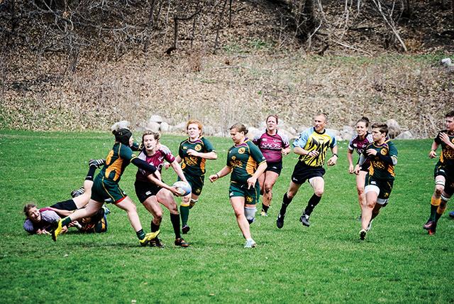 Minnesota Valkyries Rugby. Photo by Joshua Bosch