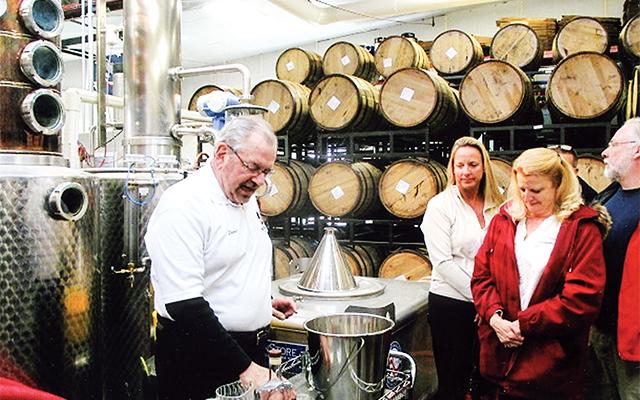 Blaum Bros. Distillery. Photo by Carla Waldemar