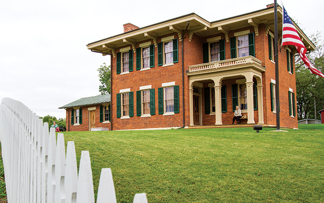 Home of President (and General) U.S. Grant.
