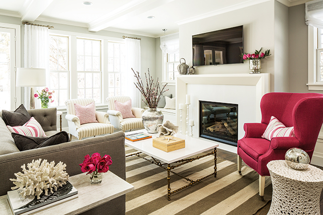 Interior design by Martha O'Hara Interiors; build by REFINED, LLC. Photography by Troy Thies Photography