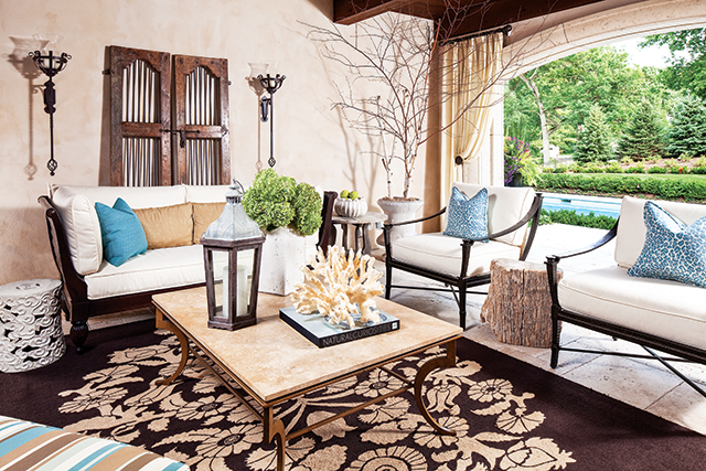 Interior design by Martha O'Hara Interiors, build by Stonewood, LLC. Photography by Troy Thies Photography