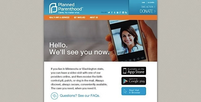 Photo courtesy of Planned Parenthood.