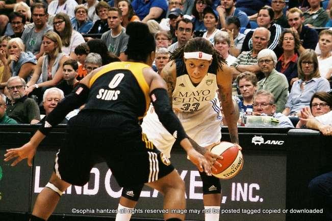 06.05.15 WNBA Minnesota Lynx 83 Tulsa Shock 75 Minneapolis MN