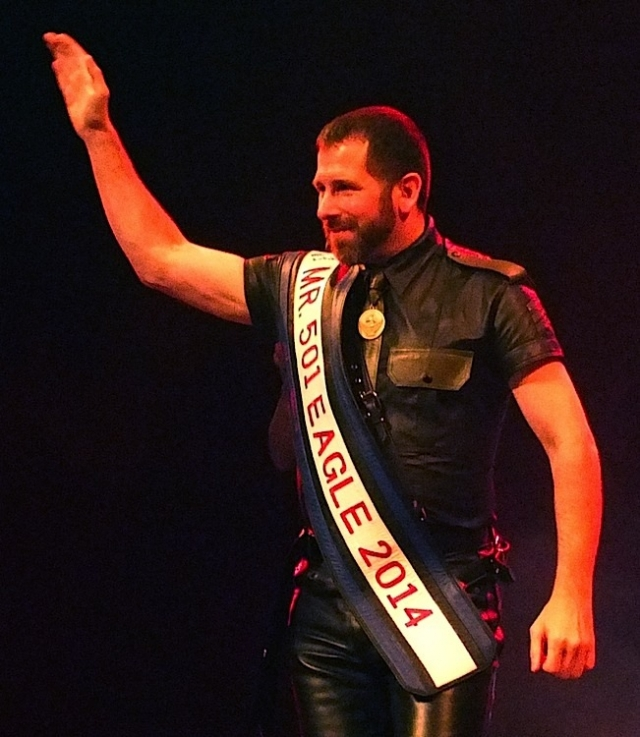 The late Greg Slaven competing in the 2014 IML contest. Photo by Steve Lenius.