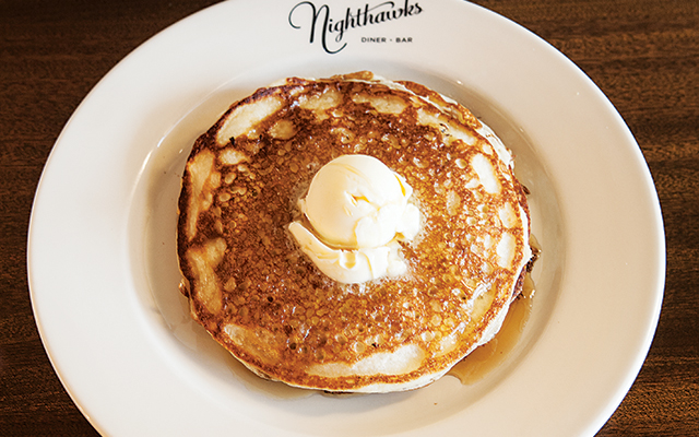 Pancakes: fluffy, golden and exactly what you want with your syrup. Photo by Hubert Bonnet