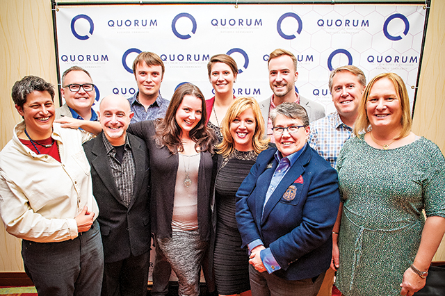 Quorum Board of Directors. Photo by DM Photographs