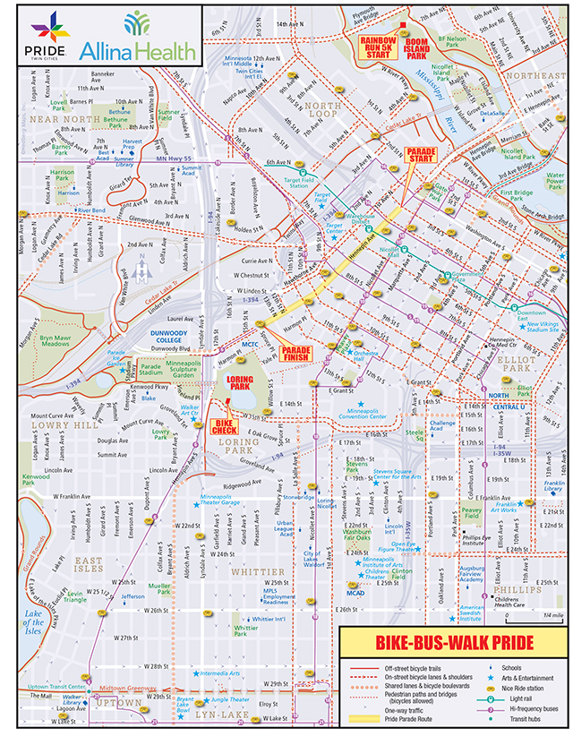 Transportation-Bike-Bus-Walk-Map