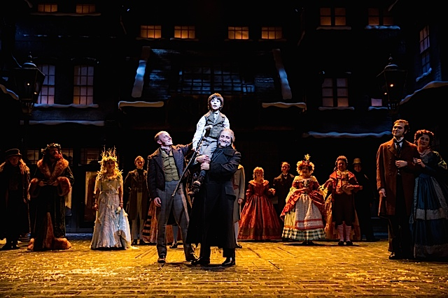 A Christmas Carol. Photo courtesy of the Guthrie Theater
