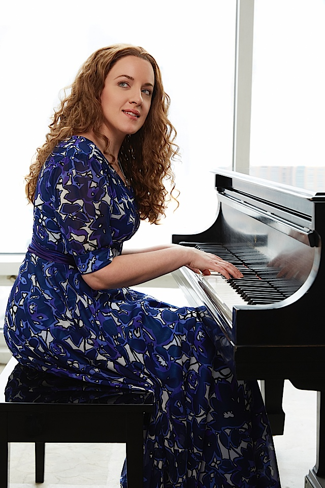 Beautiful - Abby Mueller as Carole King. Photo by Nathan Johnson