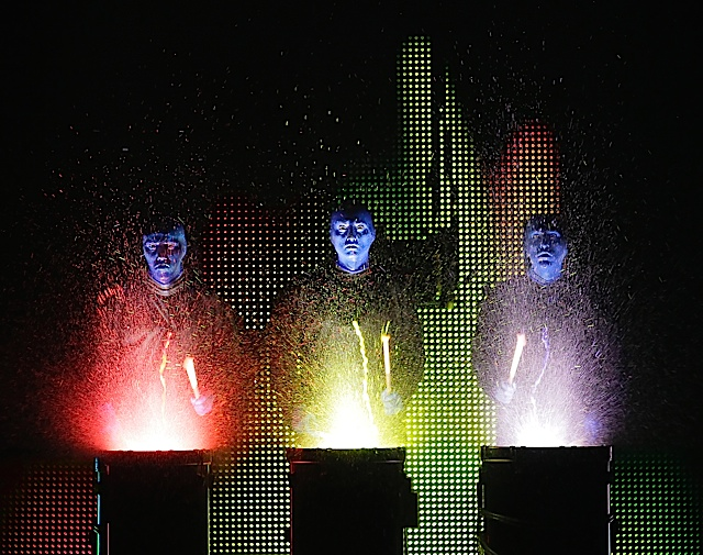 5Q: Blue Man Group