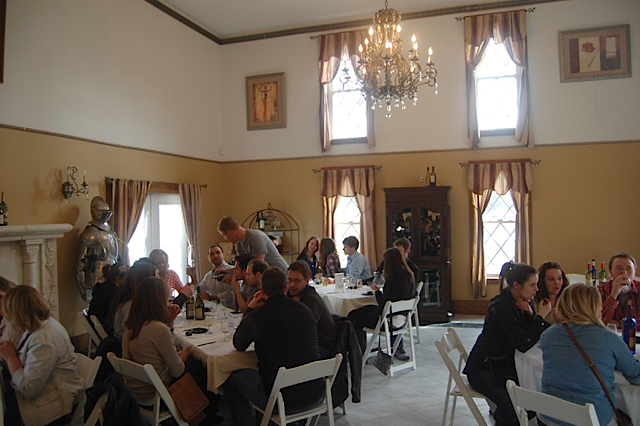 Private dining area of Chateau St. Croix. Photo courtesy of the Minnesota Grape Growers Association