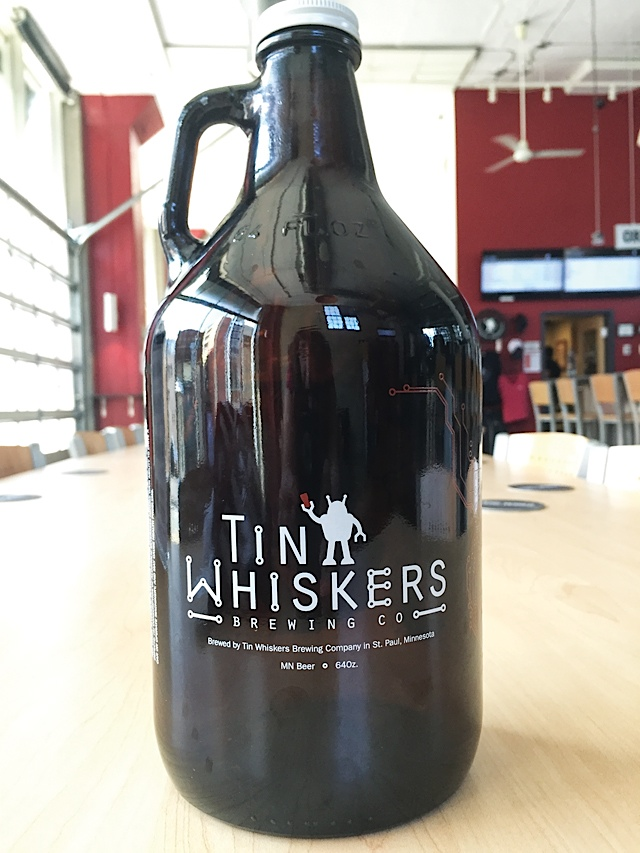 Advertisers Tin Whiskers Growler