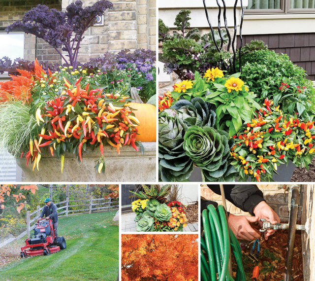 Winter prep is an important aspect to fall gardening, be sure to be prepared! Photos courtesy of Southview Design